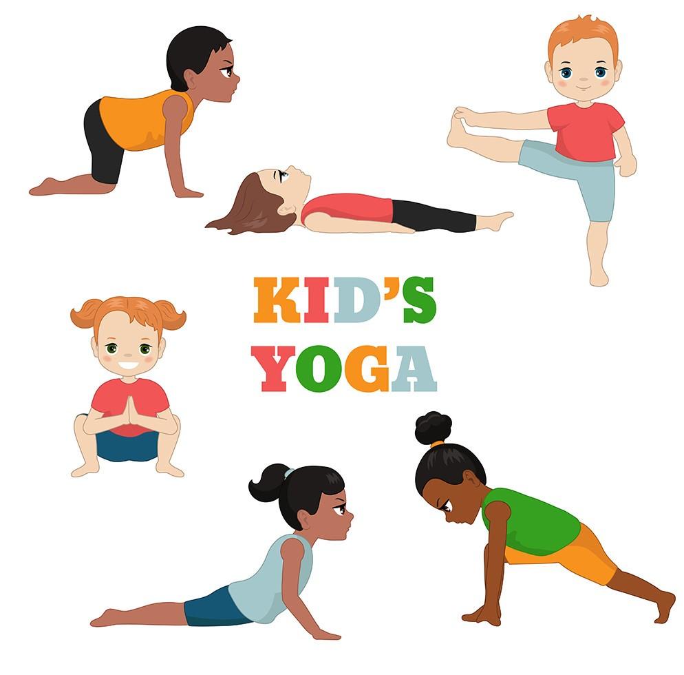 Kids Yoga Via Facebook Island Free Library