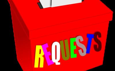 Item Request Procedure & Instructions